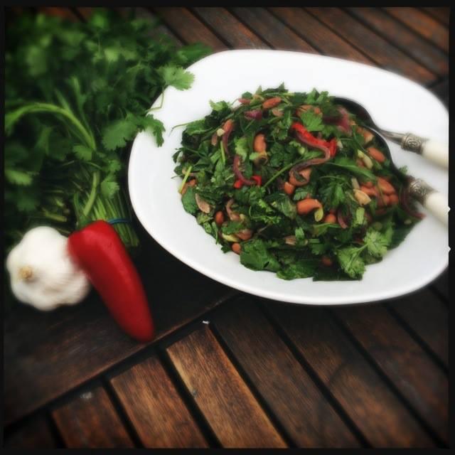 Detox Summer Chickpea Salad