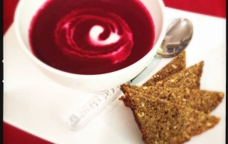 Autumn Detox Red Velvet Beetroot Soup Recipe