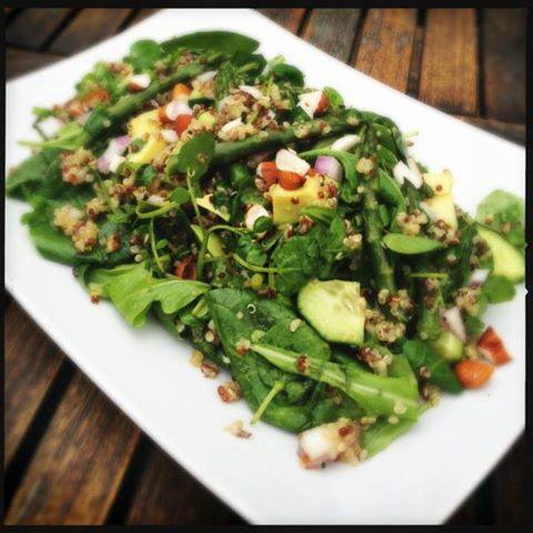 Spring Detox Quinoa Salad