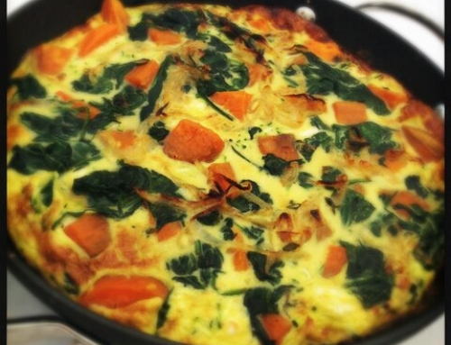 Sweet Potato Frittata