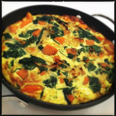 Autumn Detox Sweet Potato Frittata Recipe